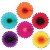 Easter Decorations Mini Flower Fans Image