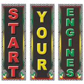 Sports Decorations Racing Cutouts Image
