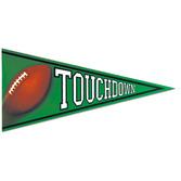 Sports Decorations Football Pennant Cutout Image