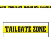 Sports Decorations Tailgate Zone Tape Image
