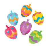 Easter Favors & Prizes Easter Spin Tops Image
