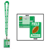 Sports Party Wear Game Day Party Pass Lanyard Image