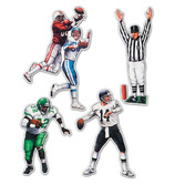 Sports Decorations Football Figures Image