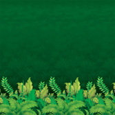 Jungle & Safari Decorations Jungle Foliage Backdrop Image