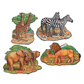 Jungle & Safari Decorations Zoo Animal Cutouts Image