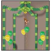 Jungle & Safari Decorations Jungle Monkey Party Canopy Image