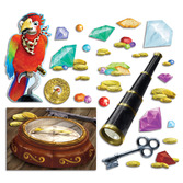Pirates Decorations Treasure Hunt Cutouts Image