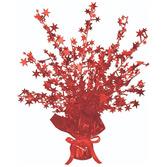 Valentine's Day Decorations Red Starburst Centerpiece Image