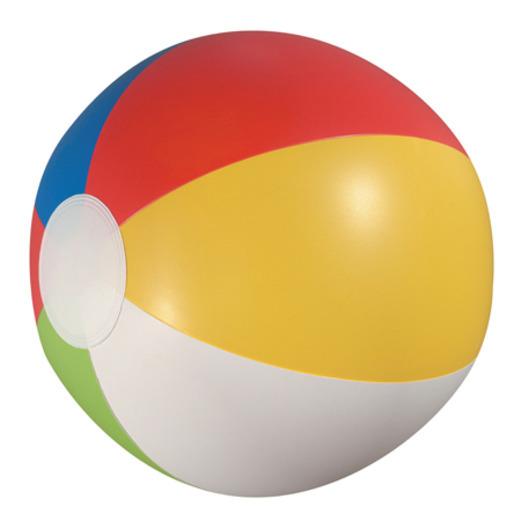 "Luau Favors & Prizes Beach Ball Inflate 20"" Image"