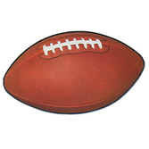 Sports Decorations Football Cutout Image