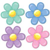 Mother's Day Decorations Retro Flower Cutouts Image