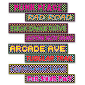 Decorations 80s Street Signs Cutouts Image