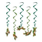 Jungle & Safari Decorations Monkey Whirls Image