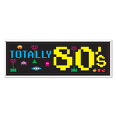 Decorations 80's Sign Banner Image