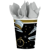 New Years Table Accessories Black Tie New Year's Cups Image