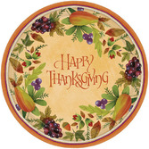 Thanksgiving Table Accessories Thanksgiving Medley Dinner Plates Image