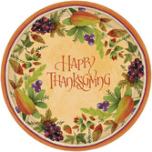 Thanksgiving Table Accessories Thanksgiving Medley Dessert Plates Image