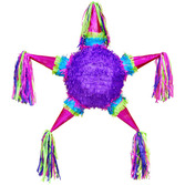Cinco de Mayo Decorations Mini Metallic 5 Point Star Pinata Image