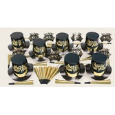 New Years Party Kits Gold Dust Party Kit for 10 Image