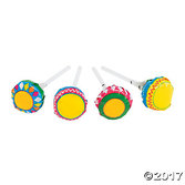 Cinco de Mayo Favors & Prizes Maraca Printed Lollipops Image