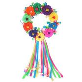 Cinco de Mayo Decorations Fiesta Flower Wreath Image