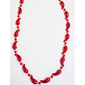 Cinco de Mayo Party Wear Mini Chili Peppers Bead Necklace Image