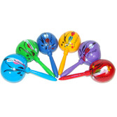 Cinco de Mayo Favors & Prizes Large Maracas Assorted Colors Image