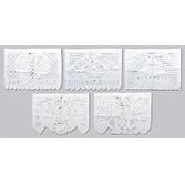 Wedding Decorations Wedding Papel Picado Banner - White Image