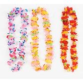 Luau Party Wear Ruffle Petal Flower Lei Image