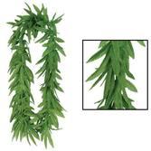 Luau Party Wear Tropical Fern Leaf Lei Image