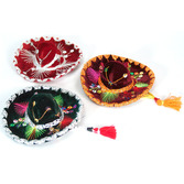Cinco de Mayo Decorations Small Velvet Mariachi Sombrero Image
