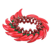 Cinco de Mayo Party Wear Chili Pepper Bracelet Image