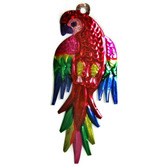 Cinco de Mayo Decorations Parrot Tin Ornament Image