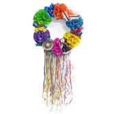 Fiesta Decorations Decorative Flower Wreath Image