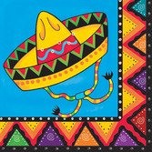 Cinco de Mayo Table Accessories Fiestivity Luncheon Napkins Image