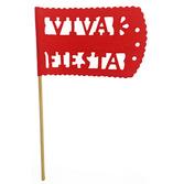 Cinco de Mayo Decorations Red Fiesta Flag Image