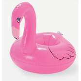 Luau Favors & Prizes Inflatable Flamingo Coasters Image