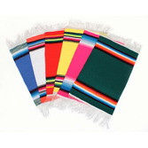 "Cinco de Mayo Decorations 10"" x 6"" Multicolor Serape Image"