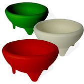 Cinco de Mayo Decorations Salsa Bowl Set Red, White, and Green Image