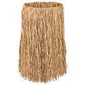 Luau Party Wear Child's Raffia Hula Skirt Image
