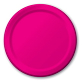 Fifties Table Accessories Hot Pink Dessert Plates Image