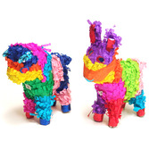 Cinco de Mayo Decorations Mini Bull or Donkey Pinata Image