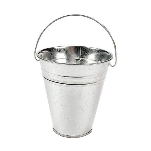 Western Favors & Prizes Galvanized Metal Bucket Image