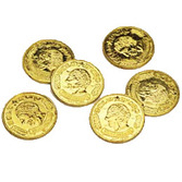 Mardi Gras Favors & Prizes Gold Coins Image