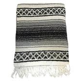 Cinco de Mayo Decorations Gray Mexican Blanket Image