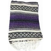 Cinco de Mayo Decorations Purple Mexican Blanket Image