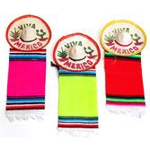 """Cinco de Mayo Decorations 3"""" Mexico Sombrero with Serape Image"""