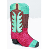 Western Decorations Cowboy Boot Pinata Image