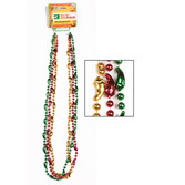 Cinco de Mayo Party Wear Mini Chili Pepper Bead Necklaces Image