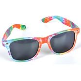 60s & 70s Party Wear Tie Dye Sunglasses Image